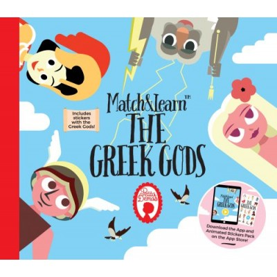 The Greek Gods (Series: Match and Learn)